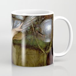 John William Waterhouse - Lamia - Digital Remastered Edition Coffee Mug