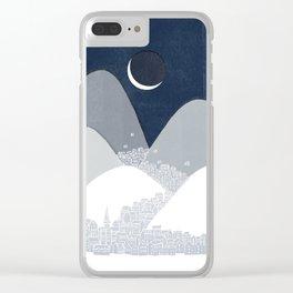 Bleak Midwinter Clear iPhone Case