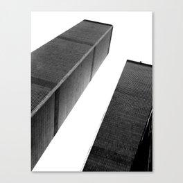 World Trade Center (Black and White) Canvas Print