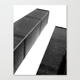 World Trade Center (Black and White) Canvas Print
