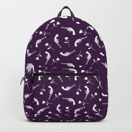 Roses & Revolvers // Plum Backpack