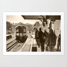 Wareham Commute Art Print