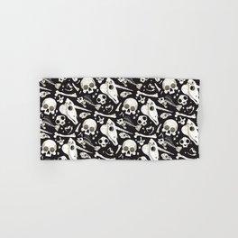 black Skulls and Bones - Wunderkammer Hand & Bath Towel