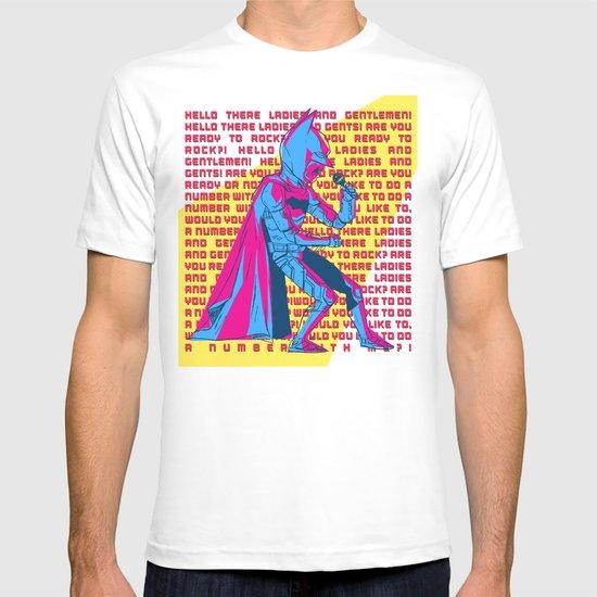 The Dark Knight Rocks (Text Version) T-shirt