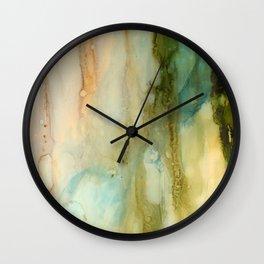 Rainy Window Wall Clock