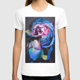Rose chalk drawing T-shirt