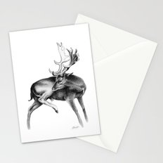 Fallow Deer Stag Stationery Cards