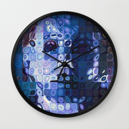 Chuck Close and Personal with Michael Meyers Wall Clock
