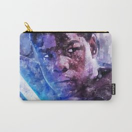 StarWars Finn Watercolor Wall Art Print, Poster, Movie Art, The Last Jedi and The Force Awakens Carry-All Pouch