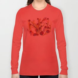 Iceland Abstracted #40 Long Sleeve T-shirt