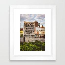 Highline View III Framed Art Print