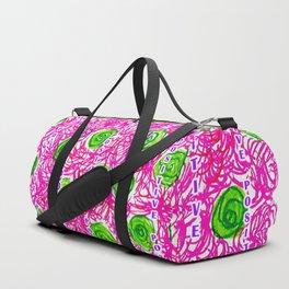 Positive Pants - Put Yours On! Duffle Bag