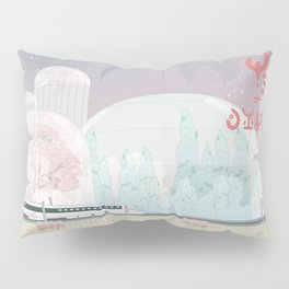 The Lands of Demos Pillow Sham