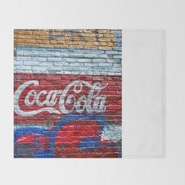 Drink Coke Throw Blanket