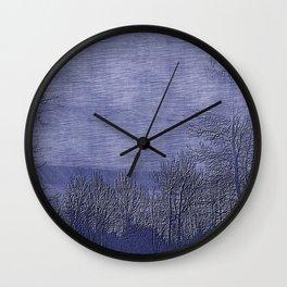 Pen Dusk Wall Clock
