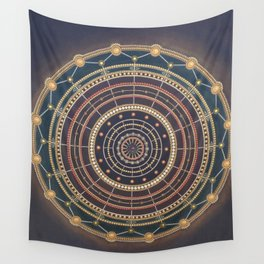 GROUNDING CONNECTION Wall Tapestry