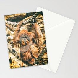 Orangutan. Stationery Cards