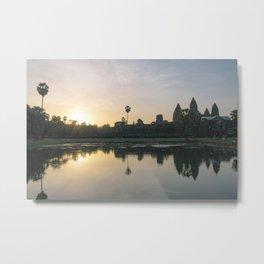Sunrise, Angkor Wat Metal Print