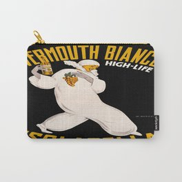 Vintage poster - Vermouth Bianco Carry-All Pouch