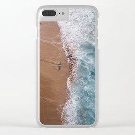 Brilliant Beach Clear iPhone Case