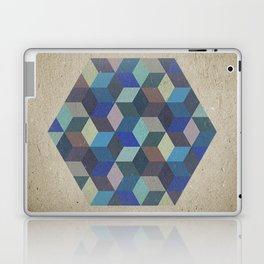 Dimension in blue Laptop & iPad Skin