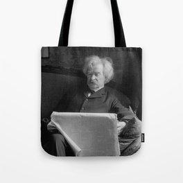 Mark Twain - American Author and Humorist Tote Bag