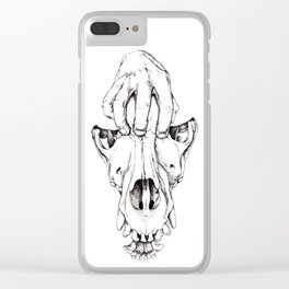 Depression Demise Clear iPhone Case