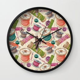 I Am Crafty Wall Clock