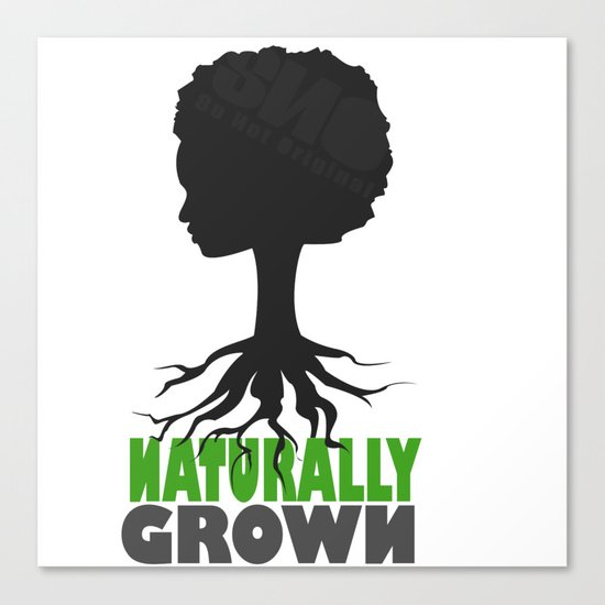 naturally grown Canvas Print