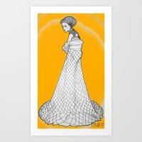 nouveau Art Prints featuring Nouveau by Madame Mim
