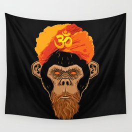 Stoned Monkey Wall Tapestry