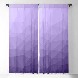 Ultra violet purple geometric mesh Blackout Curtain