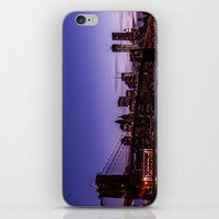 brooklyn bridge iPhone & iPod Skins featuring Brooklyn Bridge by hannes cmarits (hannes61)