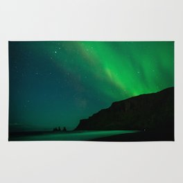 Night with the Northern Lights Rug