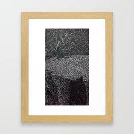 the lighthouse IV Framed Art Print