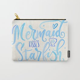 Mermaid kisses & Starfish wishes Carry-All Pouch