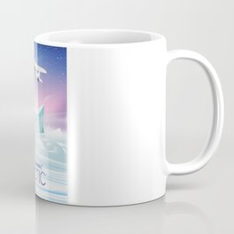 Arctic frozen flight poster. Coffee Mug