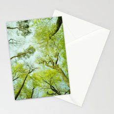 spring treetops  Stationery Cards
