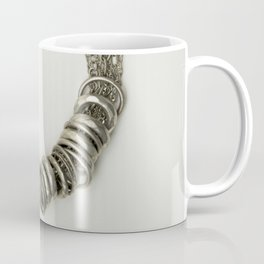 Mongolian silver necklace Coffee Mug