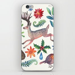 Christmas will come again iPhone Skin