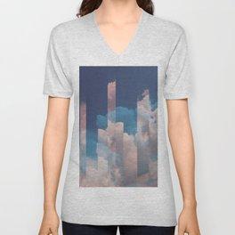 Abstract Sky Unisex V-Neck
