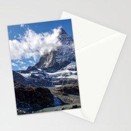 Matterhorn Cervin Mount Landscape in Switzerland Stationery Cards
