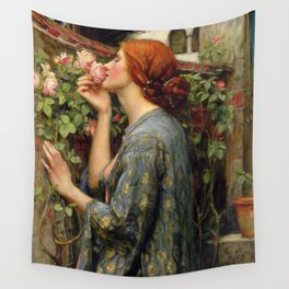 John Williams Waterhouse - The Soul of the Rose Wall Tapestry