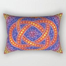 Snake knot Rectangular Pillow