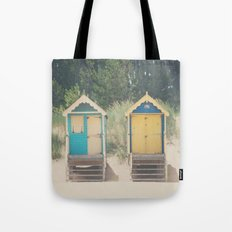 walking up the stairs ... Tote Bag