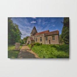 St Mary Hunton Metal Print