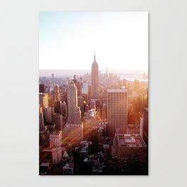 New York City Skyline - Vertical Canvas Print