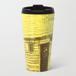 Gold New World Travel Mug