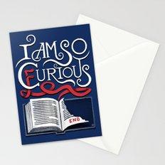 I Am So Curious Furious V2 Stationery Cards