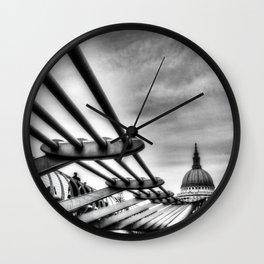 The Millenium Bridge Wall Clock